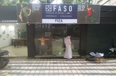 FASO – Glow Sign Board And Inshop Branding